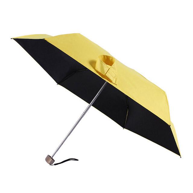 必威官网betway必威体育工厂定制超轻210D全遮光黑胶五折伞