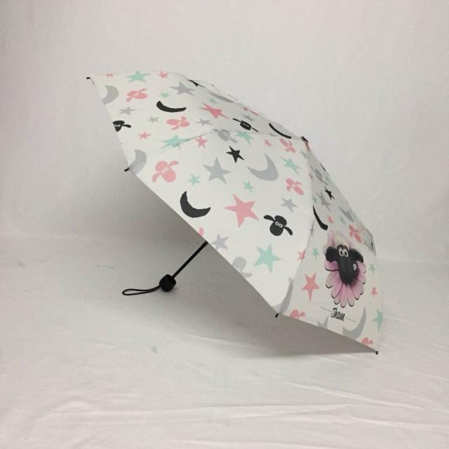 88betway88厂家定制女士超轻动漫三折伞