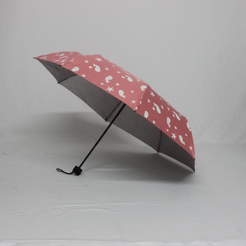 必威官网betway必威体育厂家订制高档防紫外线遇水变色三折遮阳伞